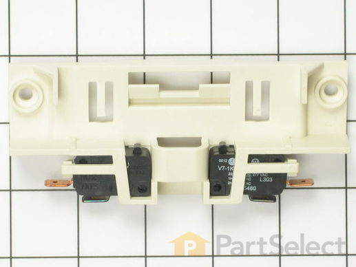 Whirlpool 99002254 Door Switches And Holder Assembly