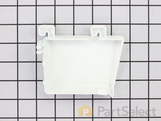 Door Shelf Retainer Bar End Cap - Right Side – Part Number: WR2X8700