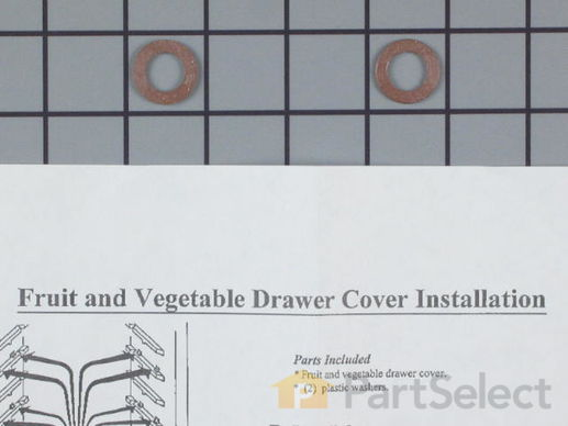 Crisper Drawer Cover – Part Number: WR32X10398